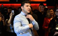 FILE: Ukrainian comic actor, showman and new Prresident Volodymyr Zelensky. Picture: AFP.