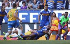 FILE: Stormers' hooker Ramone Samuels crosses the line for the home side during the Super Rugby game against Bulls. Picture: @THESTORMERS/Twitter