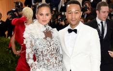 Chrissy Teigen and John Legend at the Costume Institute Benefit on 1 May 2017 at the Metropolitan Museum of Art in New York. Picture: AFP.