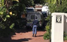 FILE: Police at the home of murdered former Naspers finance director Eric Wiese on 5 August 2017. Picture: Kevin Brandt/EWN