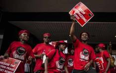 FILE: Nehawu members during a strike. Picture: EWN