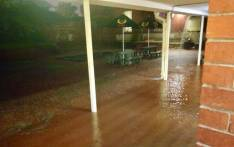 An area of the Glenwood High School in KwaZulu-Natal is flooded after heavy rain on 18 April 2019. Picture: Glenwood High School Facebook page
