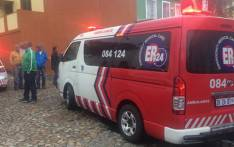 FILE: ER24 paramedics at a crime scene in Bo-Kaap, Cape Town, where a woman was robbed and stabbed. Picture: ER24.