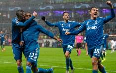Juventus players celebrate a goal. Picture: @juventusfcen/Twitter
