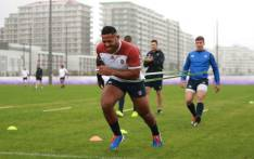 England rugby players in training during the Rugby World Cup 2019. Picture: @EnglandRugby/Twitter.