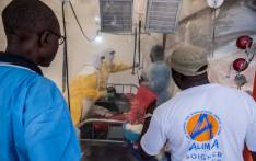 Healthcare workers look after a patient with Ebola in the Democratic Republic of Congo. Picture: @WHO/Twitter.