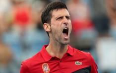 FILE: Serbia's Novak Djokovic. Picture: @ATPCup/Twitter.