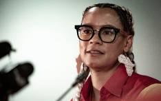 EFF treasurer-general Leigh-Ann Mathys. Picture: Sethembiso Zulu/EWN