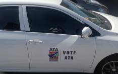 Alliance for Transformation for All (ATA) logo on a car. Picture: Alliance for Transformation for all ATA Facebook page.