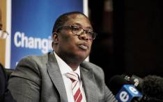 Gauteng Education MEC Panyaza Lesufi briefs the media on 14 January 2020 on the status of school admissions for the new academic year. Picture: Kayleen Morgan/EWN