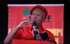 Economic Freedom Fighters (EFF) leader Julius Malema address Polokwane residents as part of the party's manifesto consultation assembly on 24 November 2018. Picture: @EFFSouthAfrica/Twitter