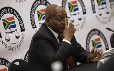 Former President Jacob Zuma at the state capture commission on 19 July 2019. Picture: Abigail Javier/EWN