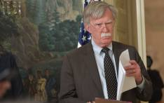 FILE: Former White House national security adviser John Bolton. Picture: AFP