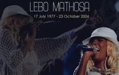 The late Lebo Mathosa. Picture: @NathiMthethwa/Twitter.