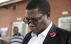 Gauteng Education MEC Panyaza Lesufi visited the accident scene that claimed the lives of two pupils from Madibatlou Primary school in Olifantsfontein on 17 February 2020. Picture Xanderleigh Dookey/EWN