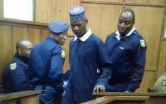Child rapist Moses Monnapula is taken away by police in the Northern Cape High Court. Picture: @SAPoliceService/Twitter