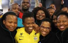 The national women's football team has returned to South Africa after playing in their first World Cup ever, having failed to make it out of the group stages. Picture: Xanderleigh Dookey/EWN.