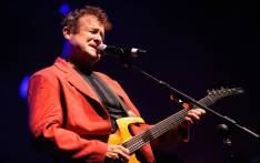 South African musician Johnny Clegg performs on stage on June 17, 2010 in Toulouse, southern France to launch to Rio Loco world music festival.  Picture: AFP