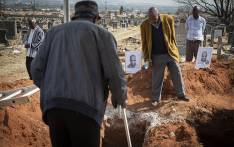 The remains of seven former members of the PAC were exhumed at Mamelodi West Cemetery on 15 August 2018 as part of the Gallows Exhumation Project. Picture: Sethembiso Zulu/EWN