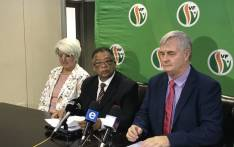 Peter Marais (c) will run as the Freedom Front Plus premier candidate for the 2019 general elections. Picture:Lindsay Dentlinger/EWN