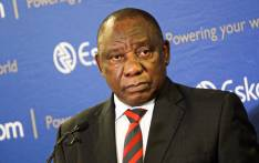President Cyril Ramaphosa addressing a media briefing on the latest spate of power cuts in the country. Picture: Kayleen Morgan/EWN