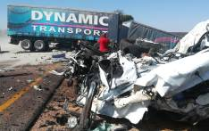 The wreckage of the accident that claimed the lives of 27 on the N1 in Limpopo. Picture: Supplied.