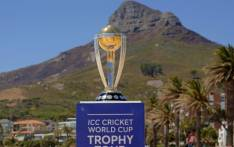 The Cricket World Cup trophy stopped in Cape Town during its tour. Picture: Instagram/cricketworldcup