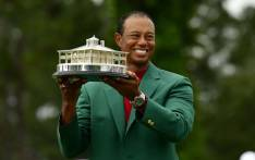 Tiger Woods claimed his 5th green jacket and his 15th Major titile. Picture: @TheMasters/Twitter