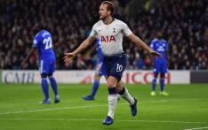 Tottenham's Harry Kane celebrates scoring a goal. Picture: @SpursOfficial/Twitter