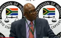 A screengrab shows Former Eskom chair Zola Tsotsi at the state capture inquiry on 24 January 2020. Picture: SABC Digital/YouTube