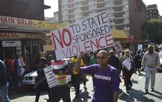 FILE: Thousands of people took part in the anti-xenophobia march, calling for end to attacks on foreign nationals in Johannesburg on 23 April 2015. Picture: Emily Corke/EWN.