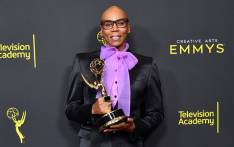 RuPaul poses with the Outstanding Host for a Reality or Competition Program Award for 'RuPaul's Drag Race' during the 2019 Creative Arts Emmy Awards on 14 September 2019 in Los Angeles, California. Picture: AFP