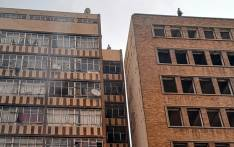 An investigation is underway after a fire broke out at a building in the Johannesburg CBD on 16 August 2018. Picture: Mia Lindeque/EWN