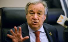 FILE: UN secretary-general Antonio Guterres. Picture: AFP