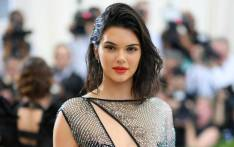 Model Kendall Jenner at the Costume Institute Benefit on 1 May 2017 at the Metropolitan Museum of Art in New York. Picture: AFP.