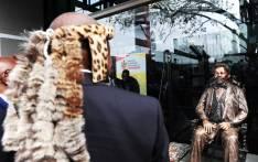 Deputy President David Mabuza unveiled Adam Kok III Statue and the Adam Kok Municipal Building during the National Heritage Day celebrations at Kokstad in the KwaZulu-Natal. Picture: @PresidencyZA/Twitter