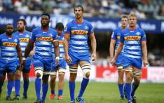 DHL Stormers lock Eben Etzebeth (centre-right) will miss the Super Rugby tussle with the Wellington Hurricanes in Wellington on Saturday due to a concussion. Picture: thestormers.com.