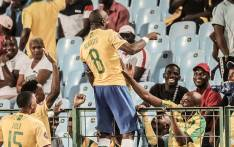 Mamelodi Sundowns' Hlompho Kekana celebrates his goal against Bloemfontein Celtic during their Absa Premiership match on 19 February 2020. Picture: @Masandawana/Twitter