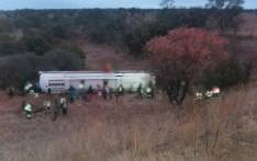 FILE: A bus crash on the N1 South, 20km south of Polokwane on 21 September 2018. Picture: @Netcare911_sa/Twitter