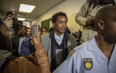 FILE: Duduzane Zuma leaves the Commercial Crimes Court after being charged with corruption and granted R100k bail. Picture: Thomas Holder/EWN.