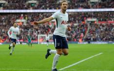 Tottenham Hotspur forward Harry Kane celebrates a goal. Picture: @SpursOfficial/Twitter