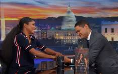 Gabrielle Union chats to Trevor Noah on 'The Daily Show'. Picture: Youtube Screengrab.