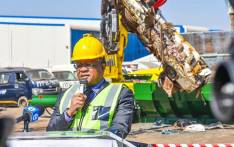 Transport Minister Fikile Mbalula. Picture: @DoTransport/Twitter.