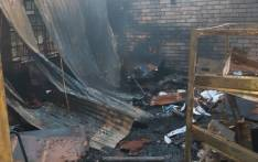 The Soshanguve High School in Pretoria following a fire in the administration block. Picture: @Lesufi/Twitter