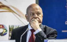 Public Enterprises Minister Pravin Gordhan at a press briefing at Lethabo power station. Picture: Abigail Javier/EWN