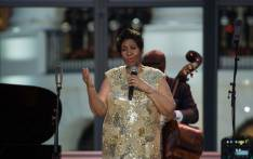 Legendary US singer Aretha Franklin. Picture: AFP