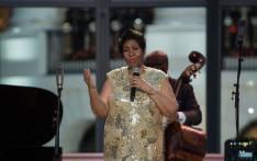 Legendary US singer Aretha Franklin. Picture: AFP