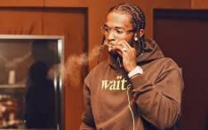 US rapper Pop Smoke. Picture: @POPSMOKE10/Twitter