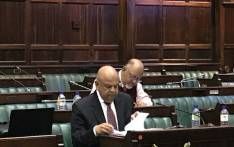 Public Enterprises Minister Pravin Gordhan appearing before Parliament's Public Enterprises committees on 2 May 2018. Picture: Lindsay Dentlinger/EWN