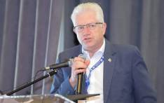 Western Cape Premier Alan Winde. Picture: @SAPoliceService/Twitter.